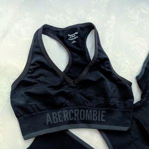 Abercrombie sports bra